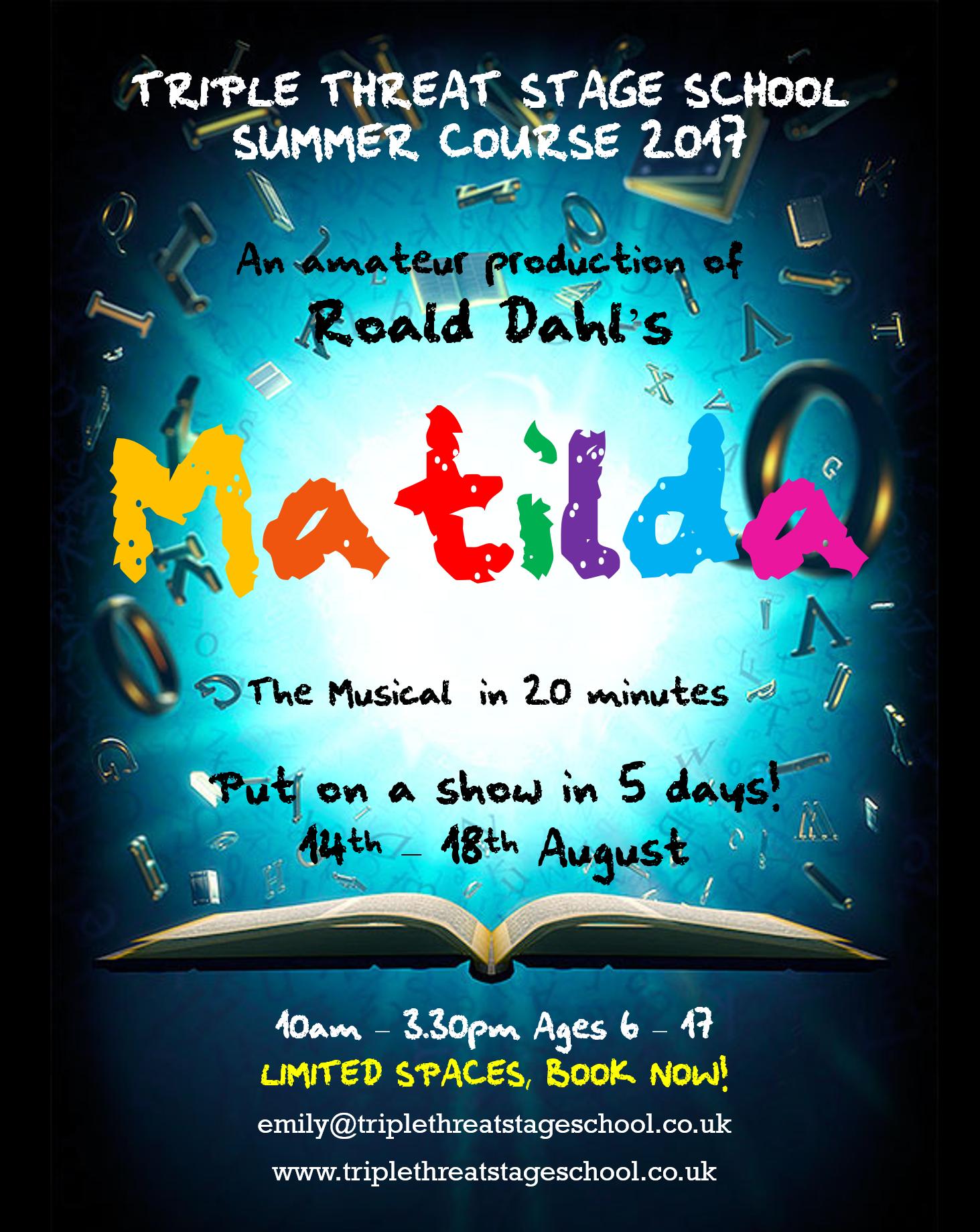 matilda the musical script pdf free