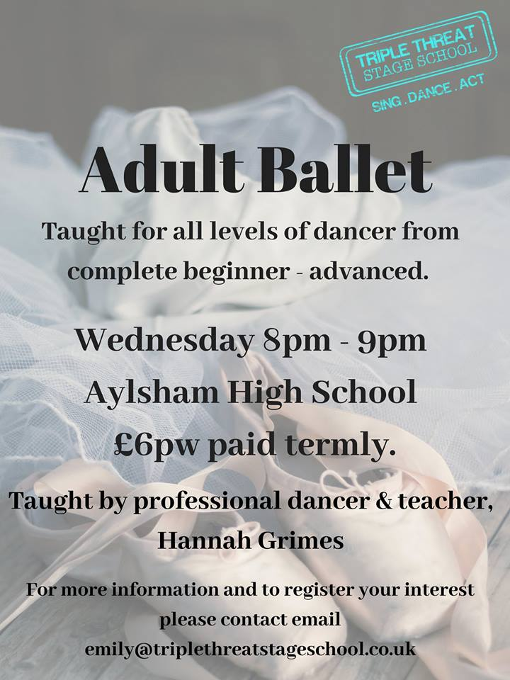 Adult Ballet Hannah